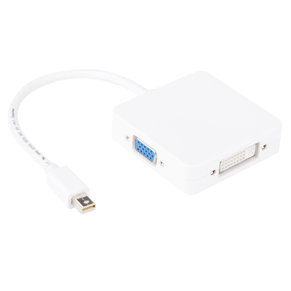 mini DisplayPort DVI HDMI VGA