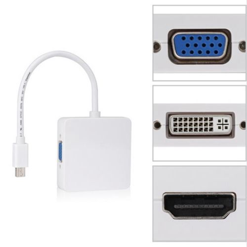 Конвертер видеосигнала mini DisplayPort DVI HDMI VGA
